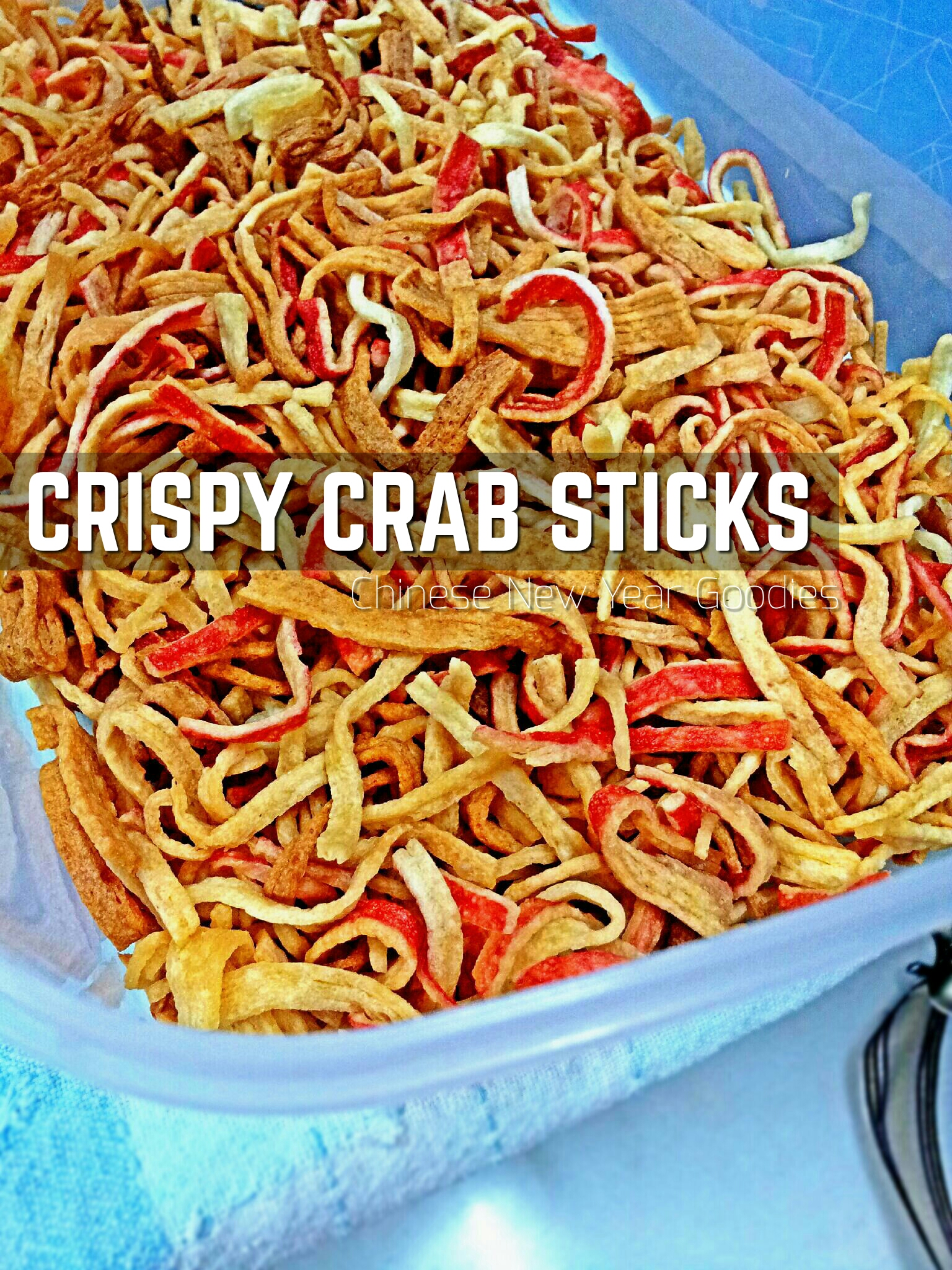 CRISPY CRAB STICKS (Filament Crab Sticks Snacks)