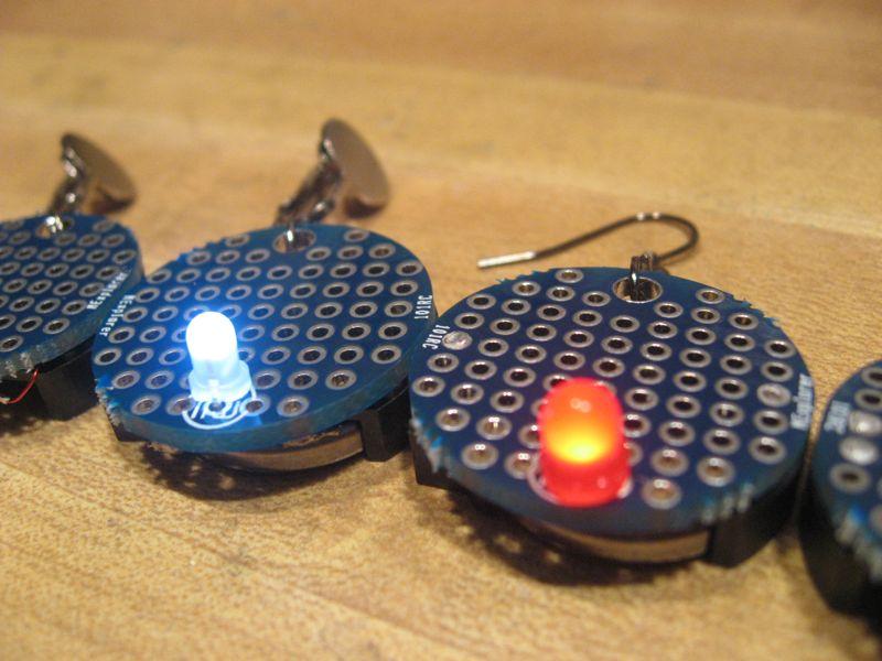 How to Make LED Circuit Board Earrings