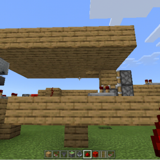 Hidden Minecraft Trapdoor