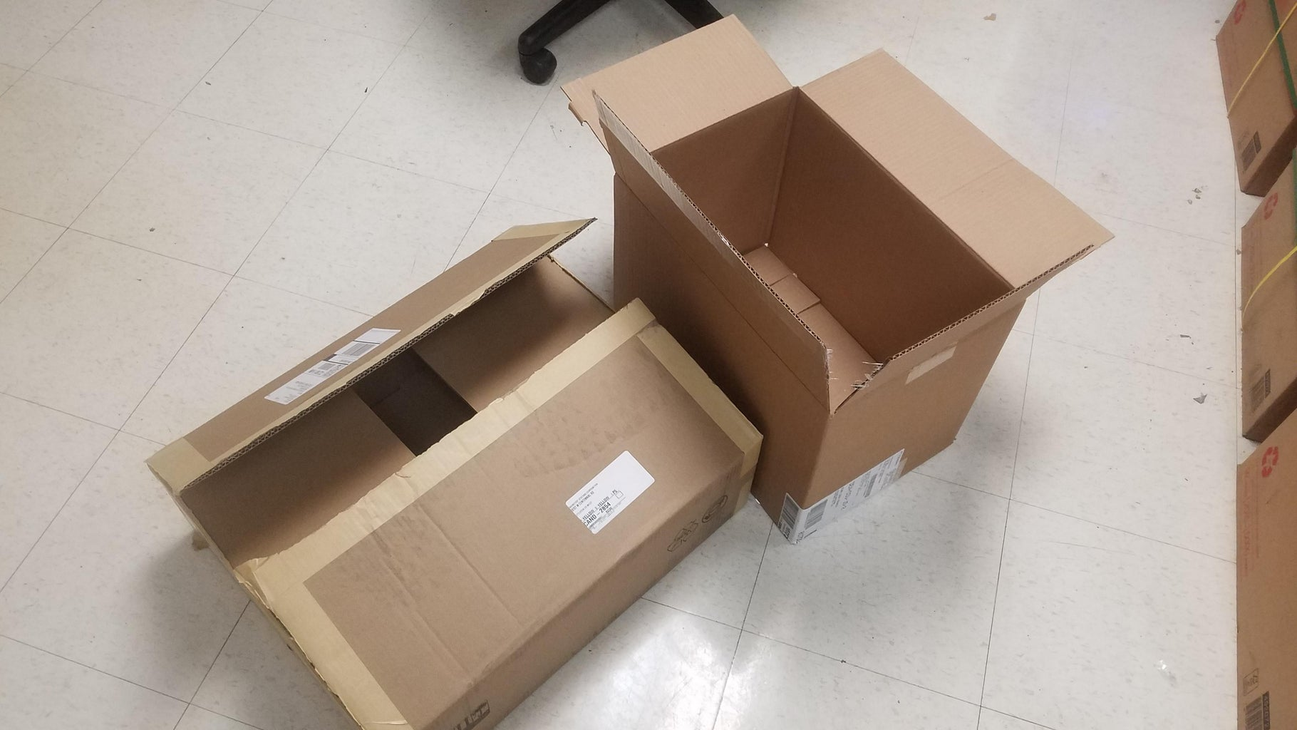 Boxes and Cut Outs