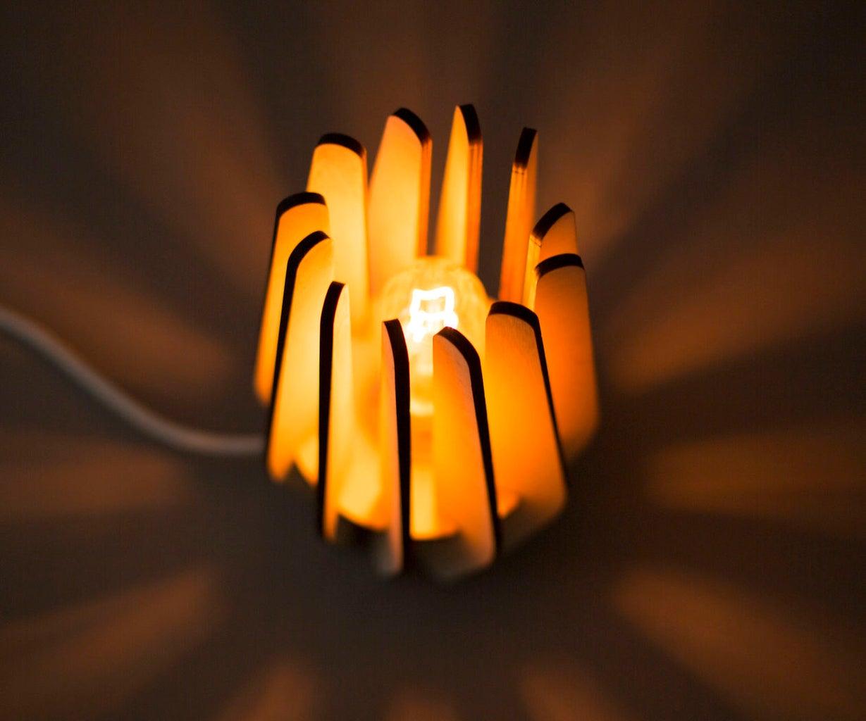 3D Laser Cut Lamp
