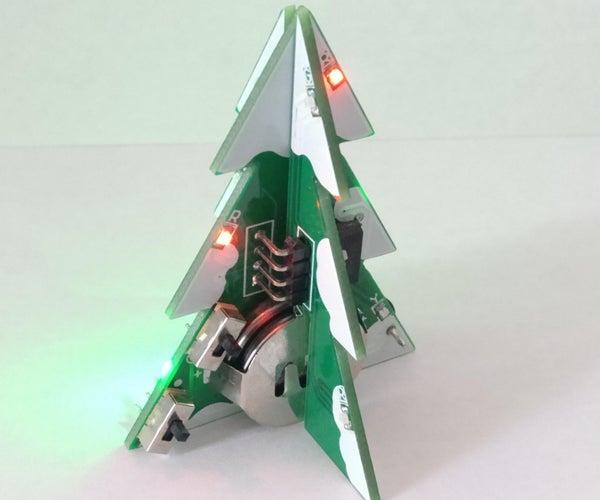 Musical LED Christmas Tree
