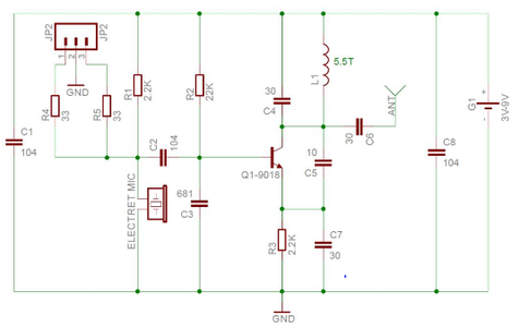 Take a Look on the PCB and Schematic Given Below: