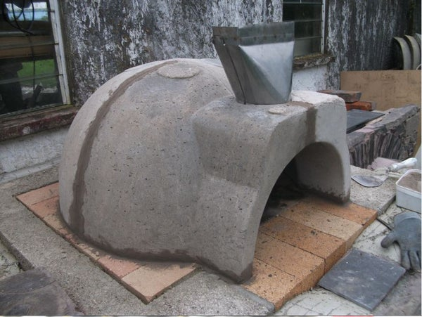 Basic Installation Instructions for DIY Wood Fired Oven Kit.