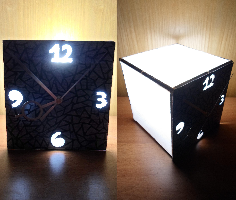 Lamp Clock (or Clock Lamp?)