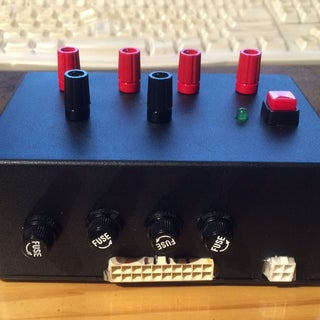 Computer Power Supply to Bench Power Supply Adapter