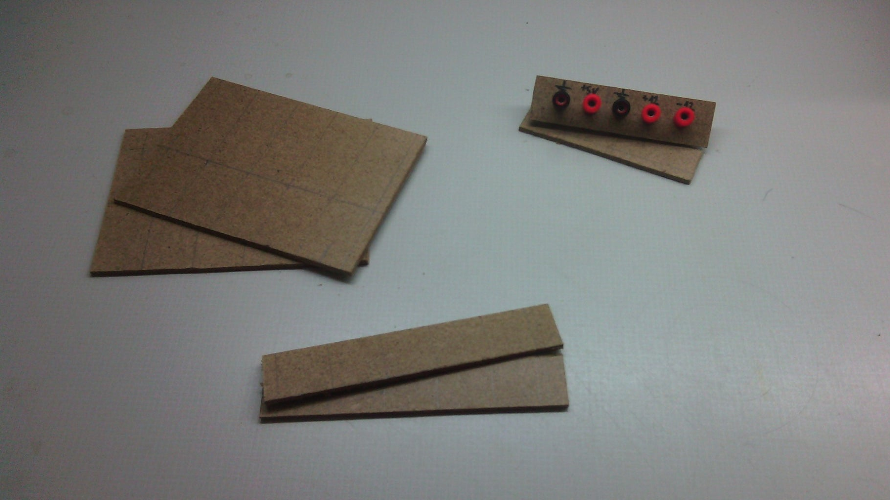 Cutted Parts for Box
