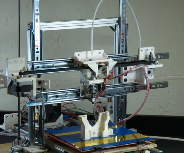 A Low Cost 3D Printer With Basic Tools