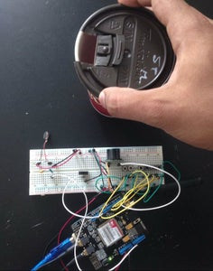 Test Out the Circuit -Vibration Motor