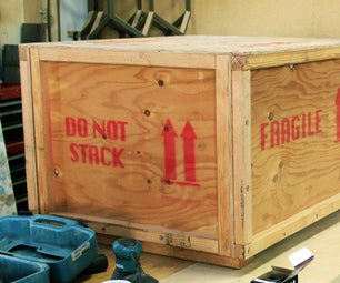 Need to Ship Something Safely? How to Build a Custom Crate...for Less Than $100.