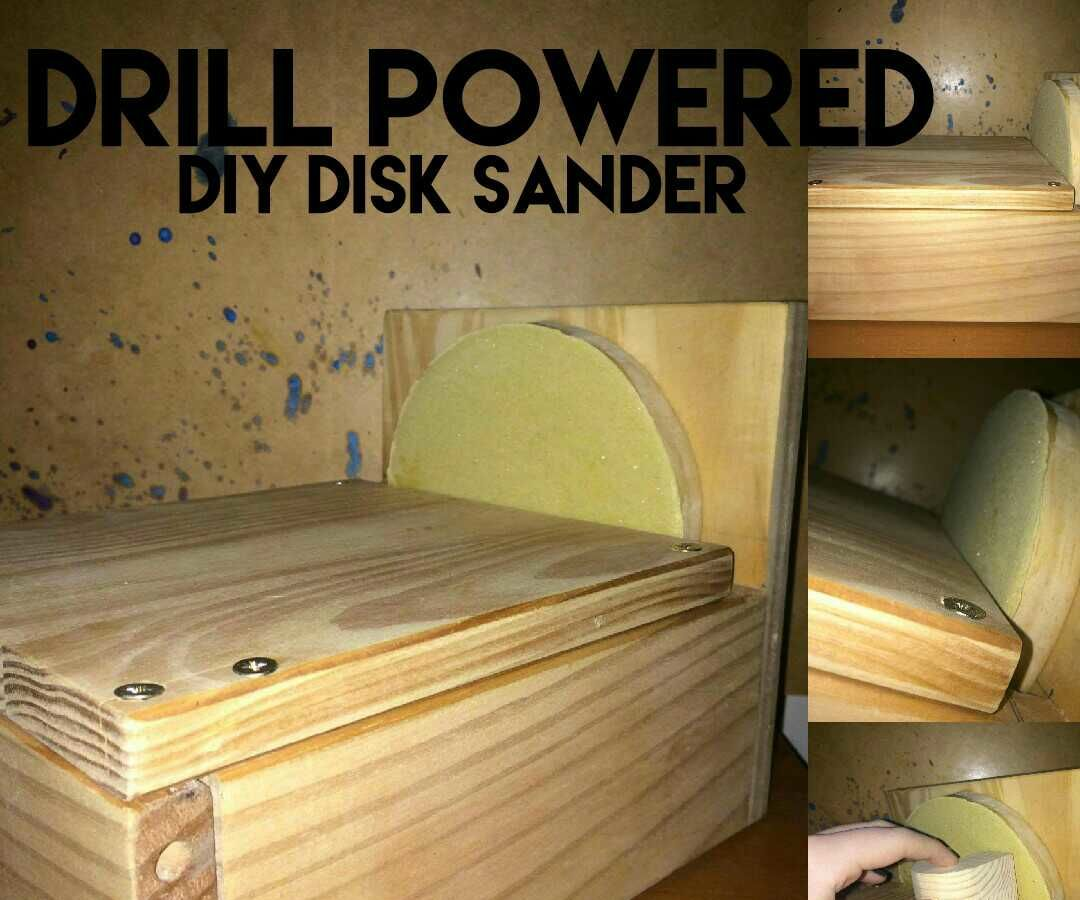 DIY Disk Sander