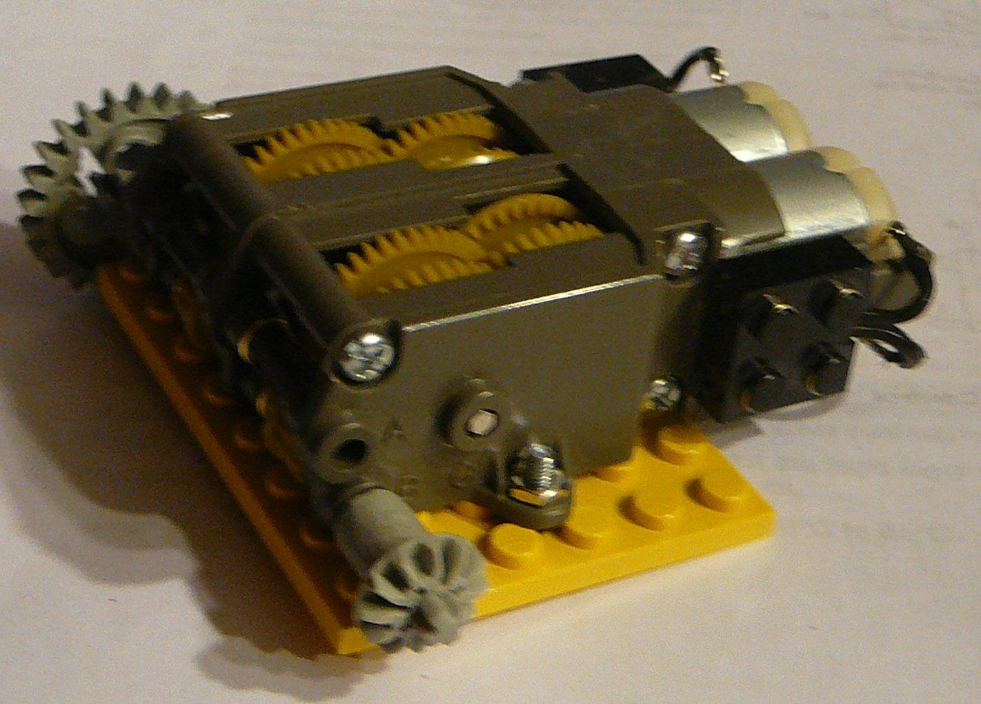 Powerful Dual Motor for Legos