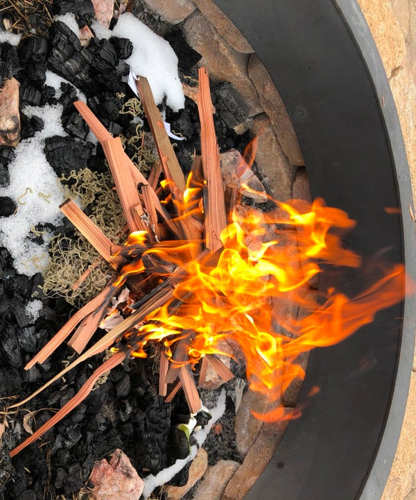 How to Start a Fire Using Flint and Steel