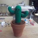 Cute Polymer Clay Cactus