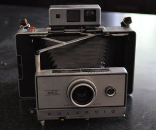 Polariod 350 Operation and Battery Modification