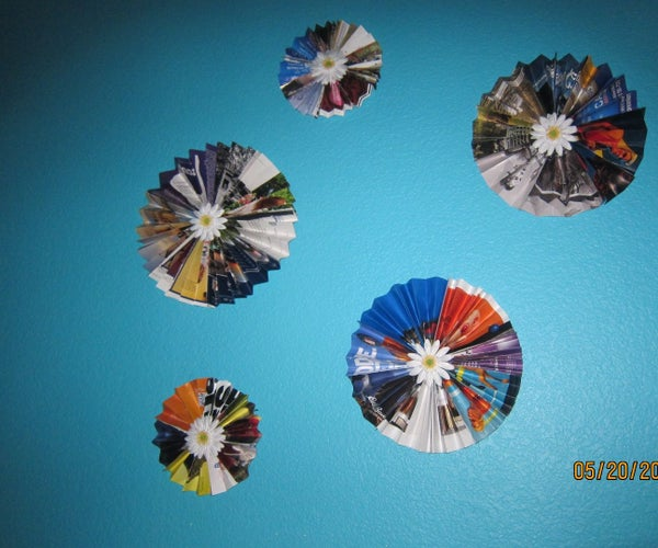 DIY Magazine Wall Decor :)