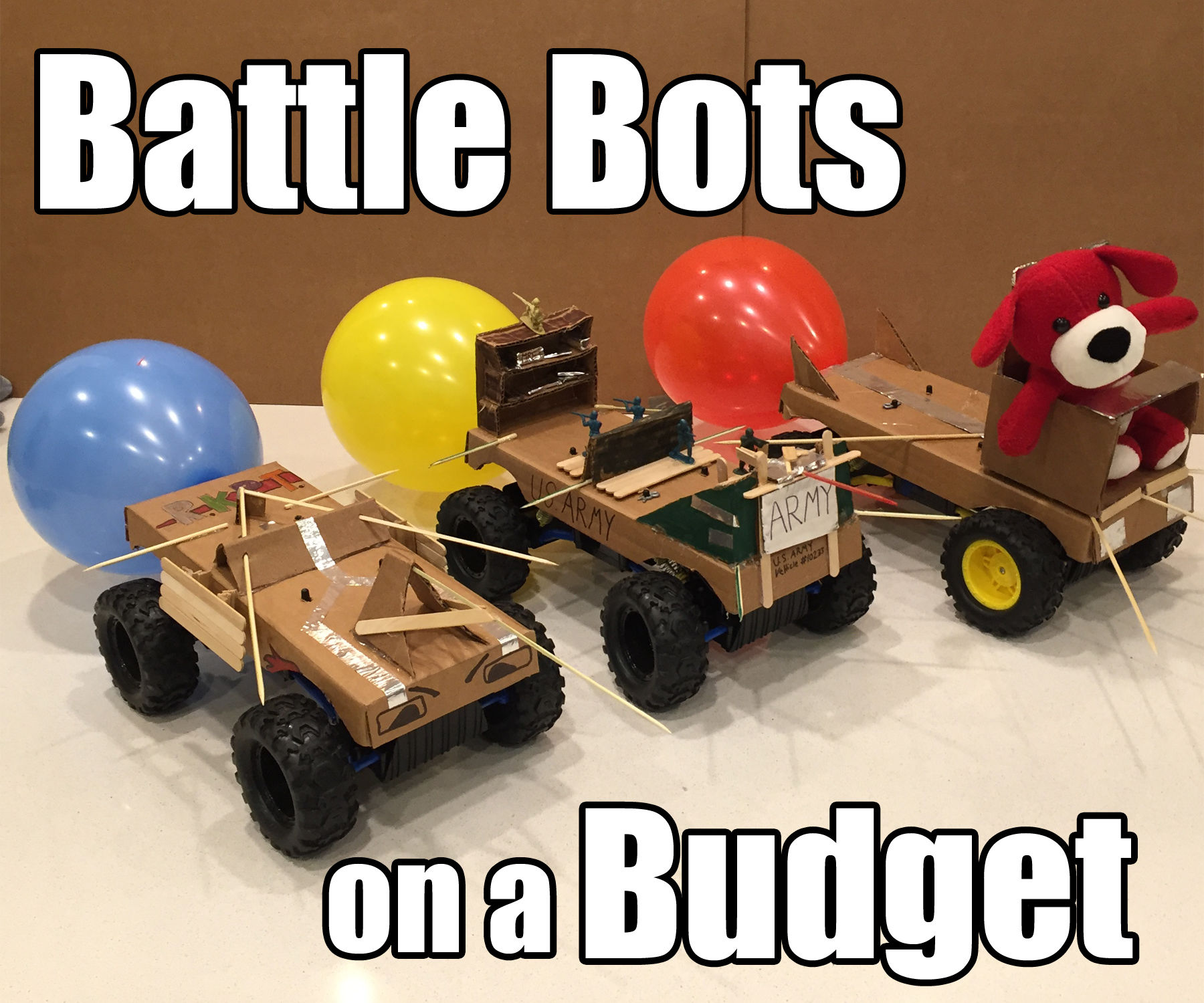 Battle Bots on a budget