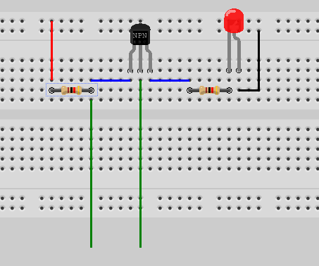Simple Touch Switch 3904 NPN