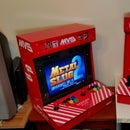 "Desktop Raspberry Pi Arcade With a Discarded 17"" LCD"
