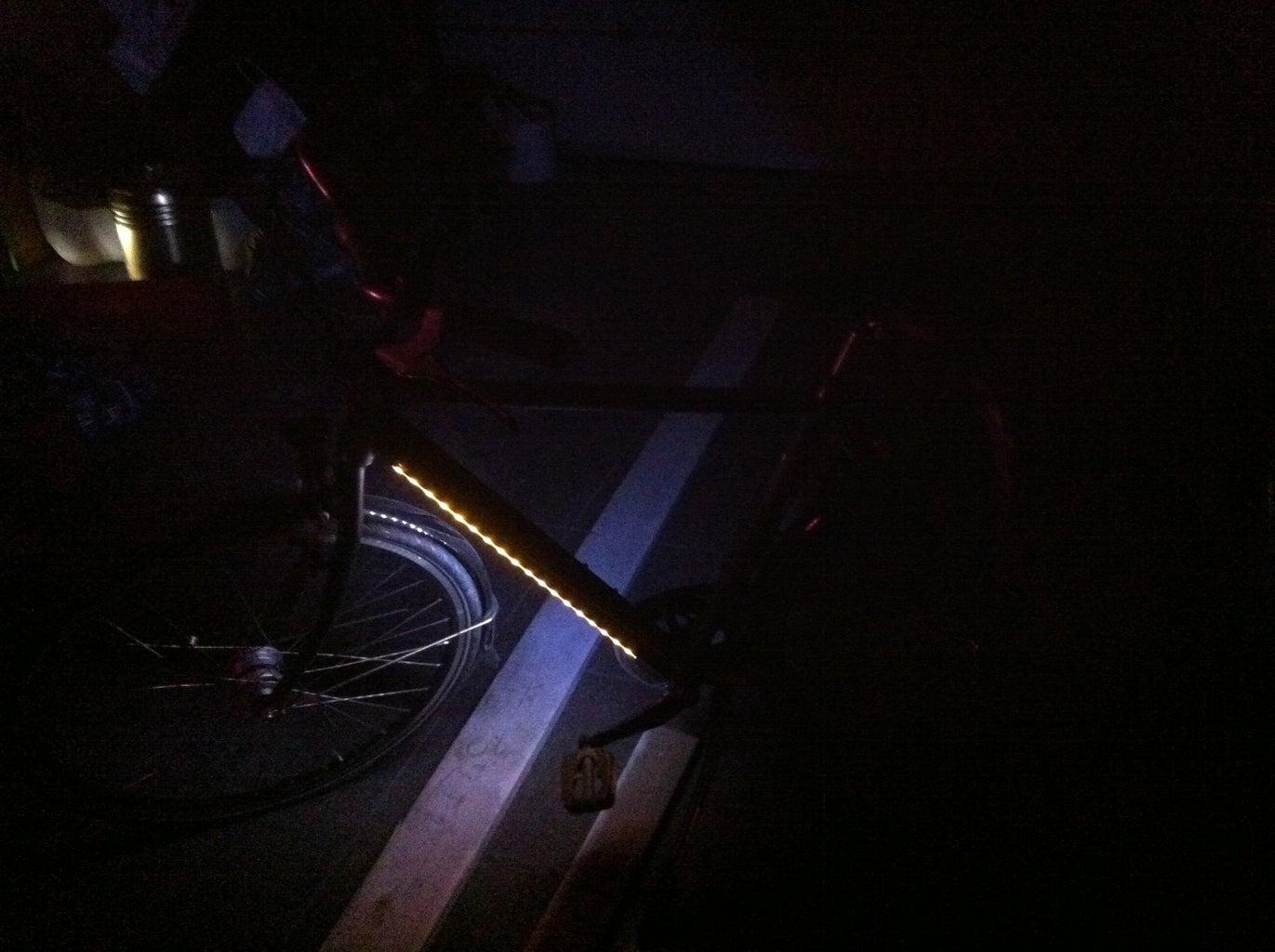 Met LED Verlichting, Veiliger Door Het Verkeer