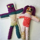 Easiest Crochet Voodoo Doll; Completely Customizable and Very Simple