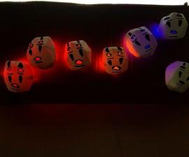 Kaonashi No Face Sound Reactive Lights