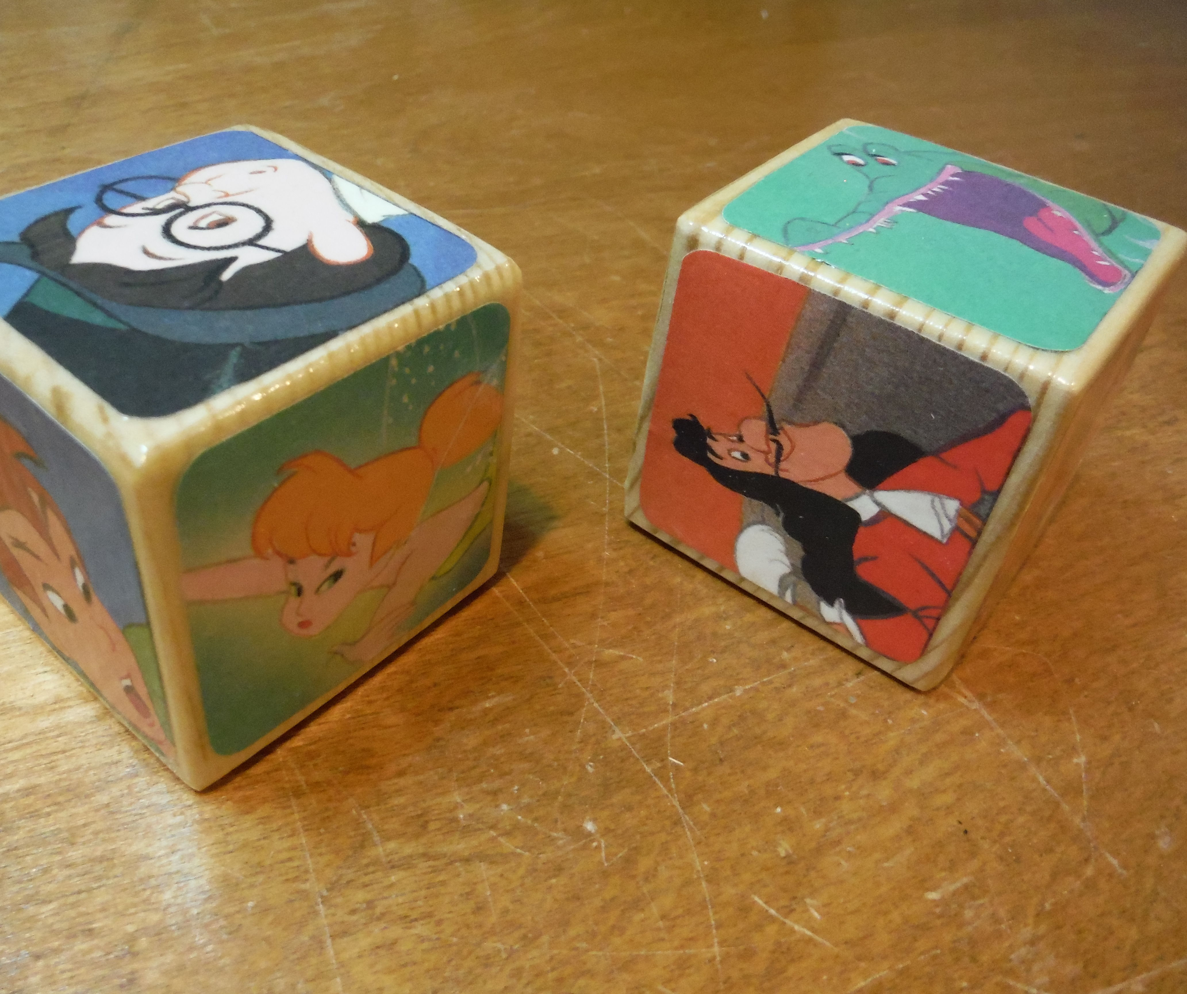 Bibliophile's baby gift:  Wooden Story Book Blocks