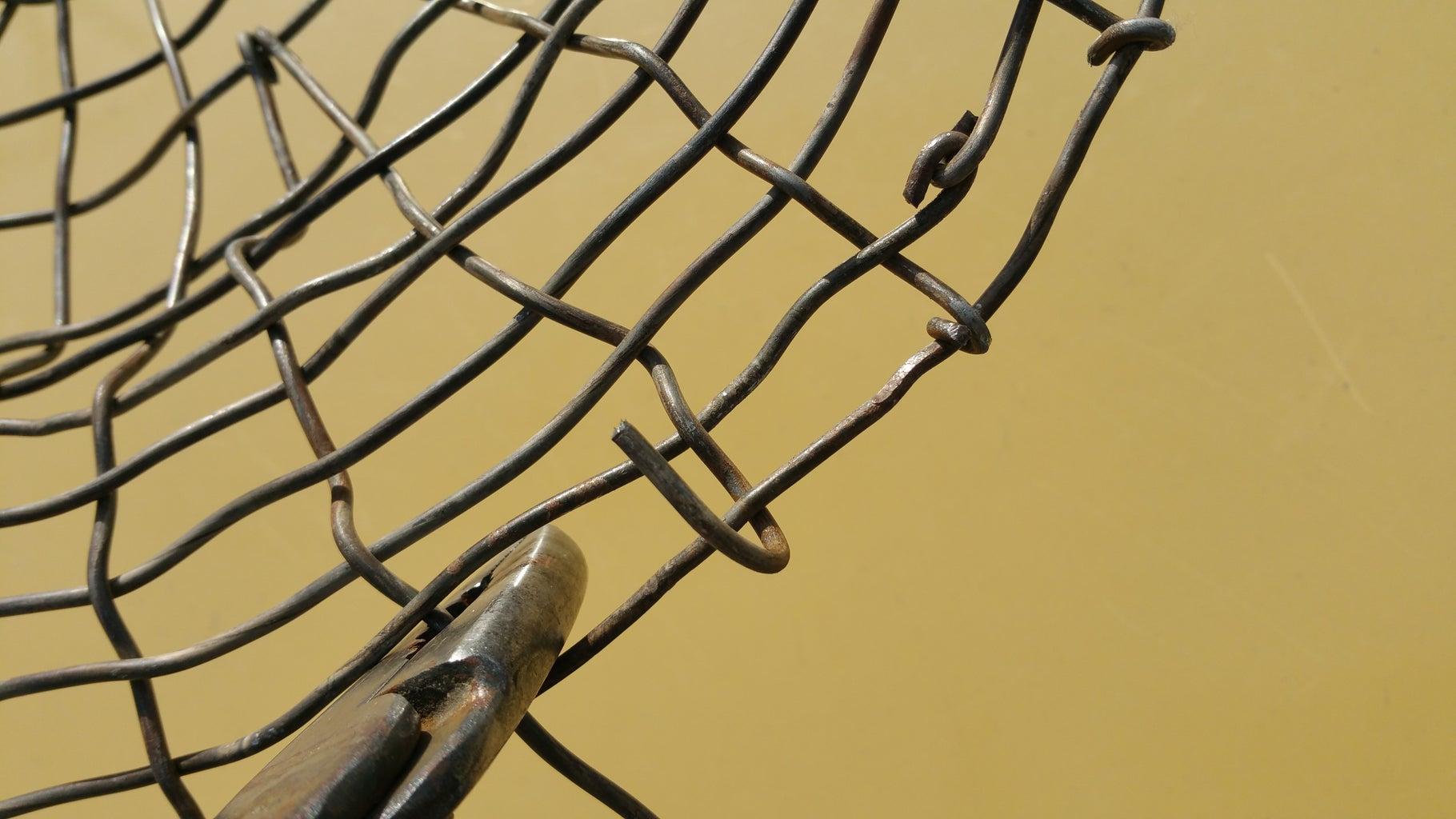 Weaving the Rim of the Harvest Basket