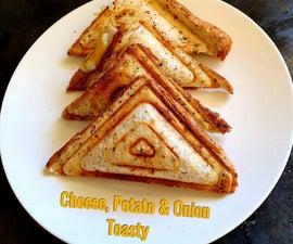 Cheese, Potato and Onion Jaffel