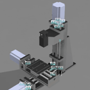 Small Desktop Column CNC