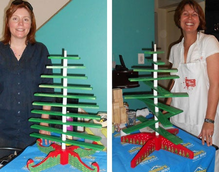 Make Your Own Wooden Christmas Tree