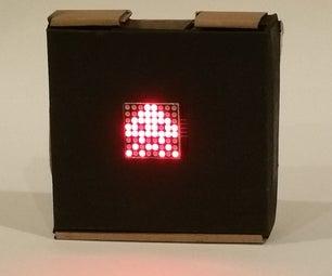 IoT Decimal/Hexadecimal 8x8 LED Matrix Drawing Board