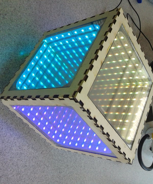 How to Make an Infinity Mirror Box