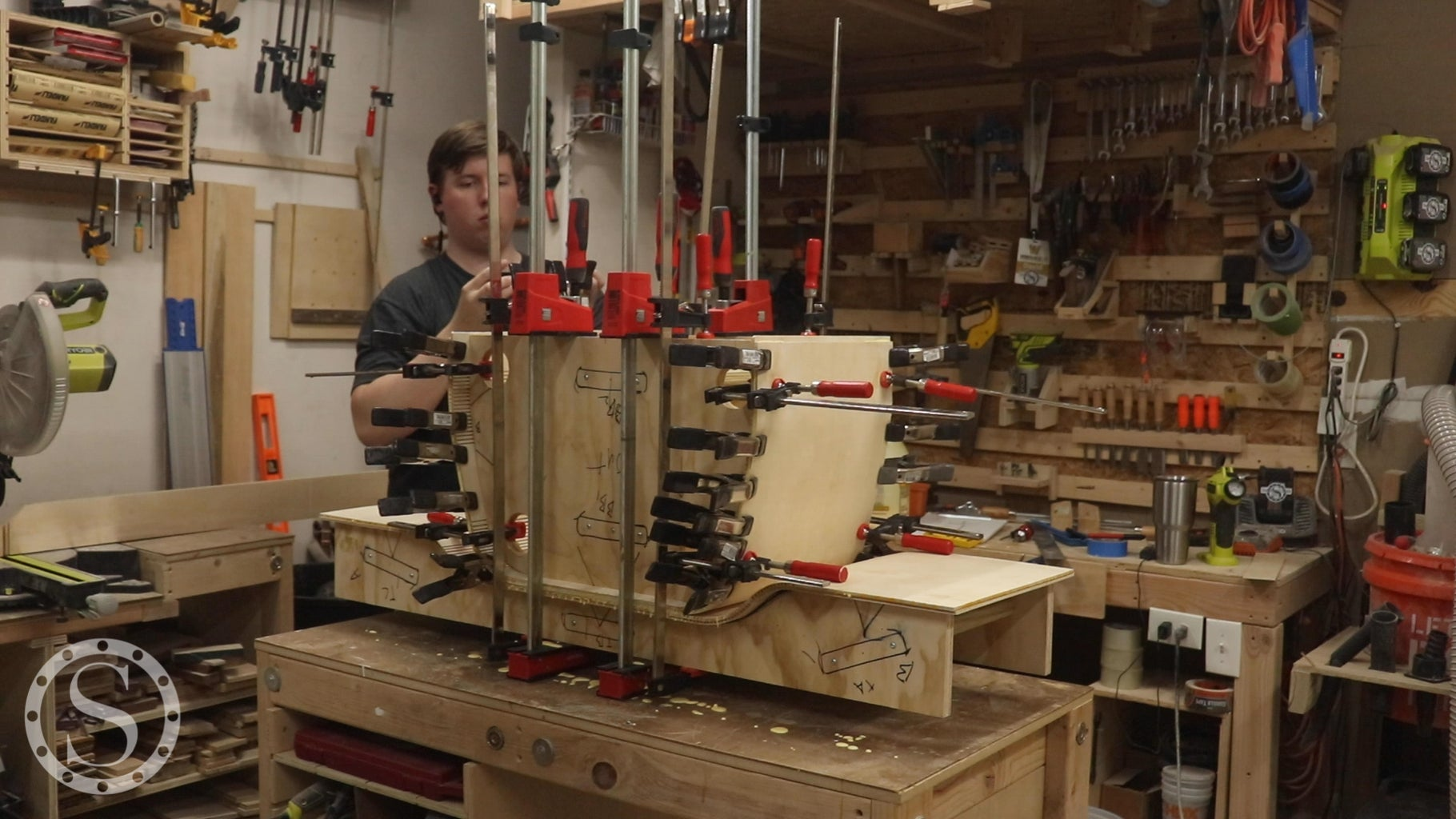 Glue Up the Middle