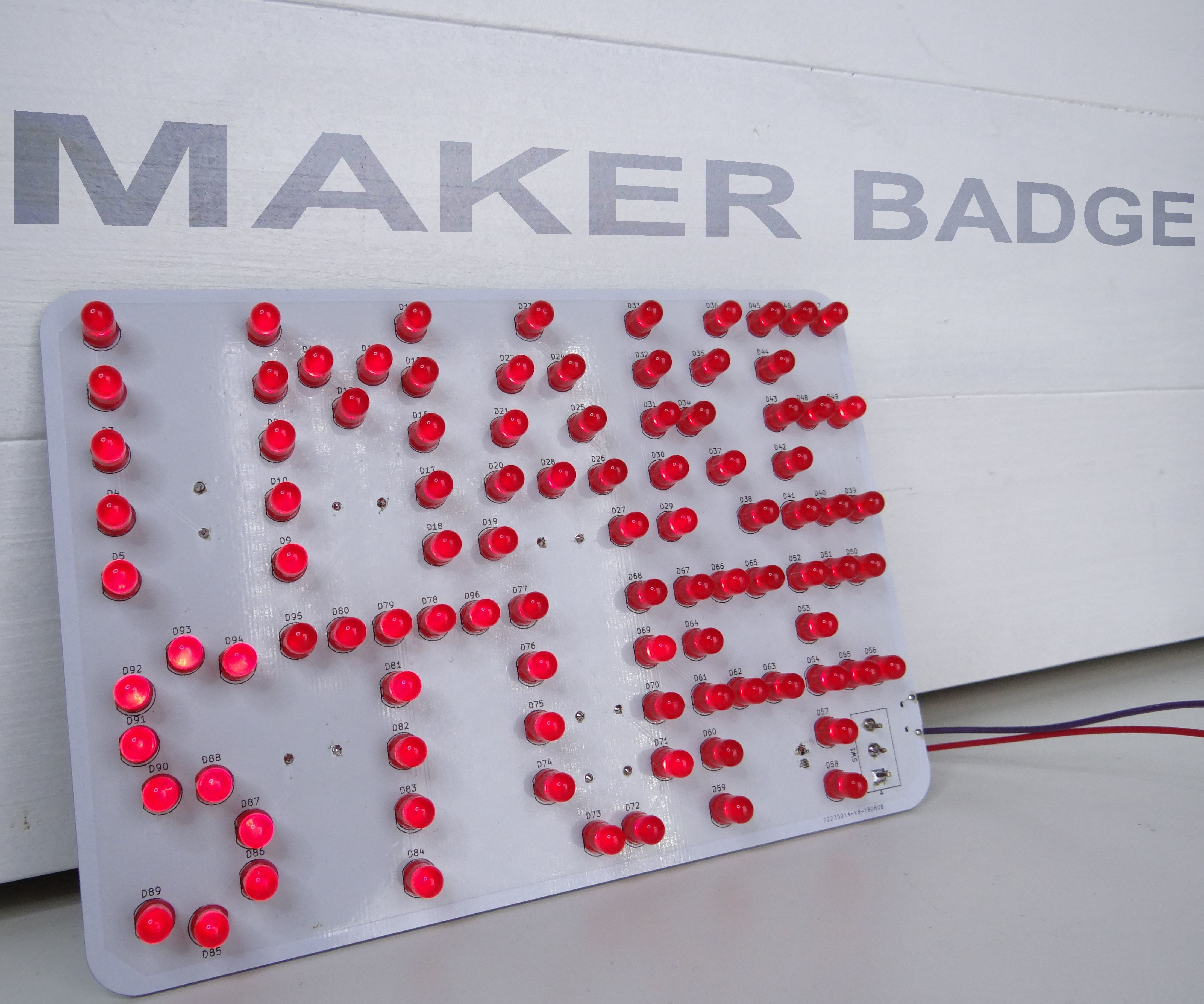 Maker Badge