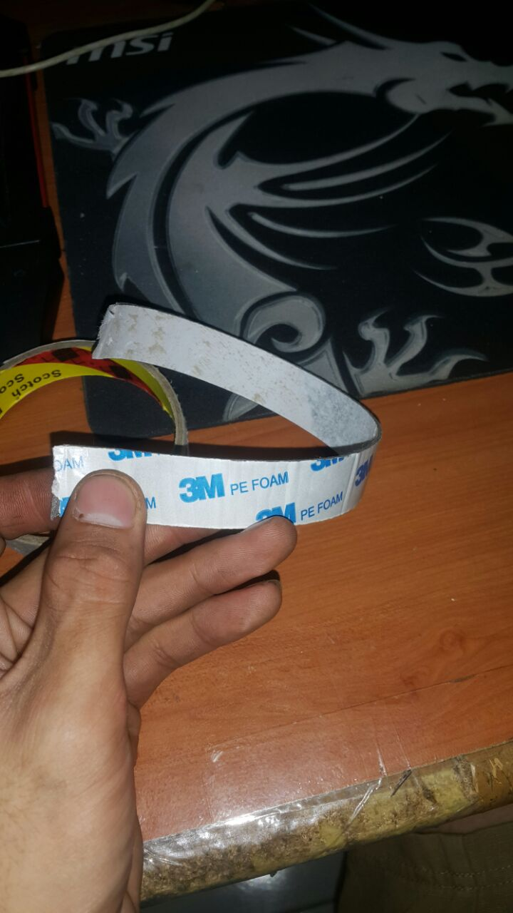 Make Use of the Part of 3m Tape That You Usually Throw