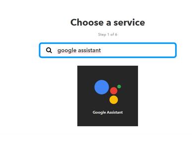 Seleccionamos Google Assistant