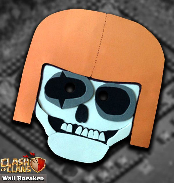 Clash of Clans - Wall Breaker - Mask