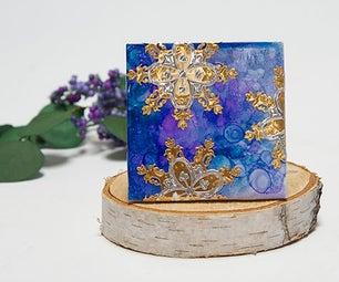 Jubilee Home Decor-Marble Coasters