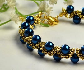 Beebeecraft Tutorials on How to Make Ancient Pearl Beads Bracelet