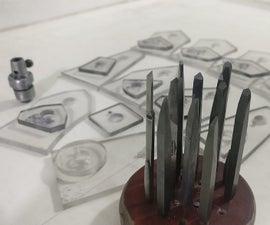 制作雕刻器和模板为雕刻设置