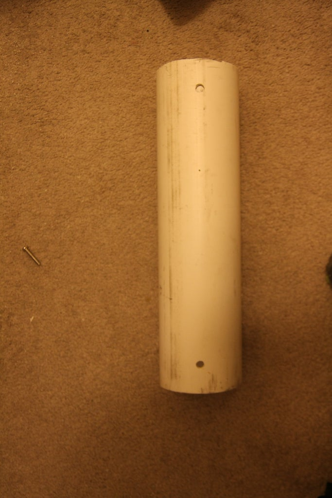 Drill the Holes for the Supports and Plants
