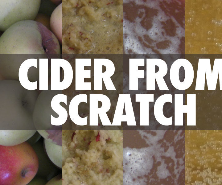 Cider from Scratch