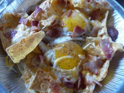 Sunny-Side-Up Breakfast Nachos