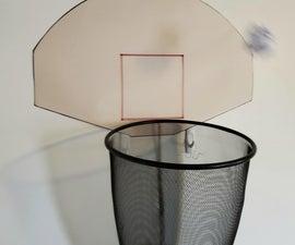 Waste Paper Basketball Hoop