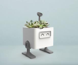 Roboid Self Watering Planter (TinkerCAD)