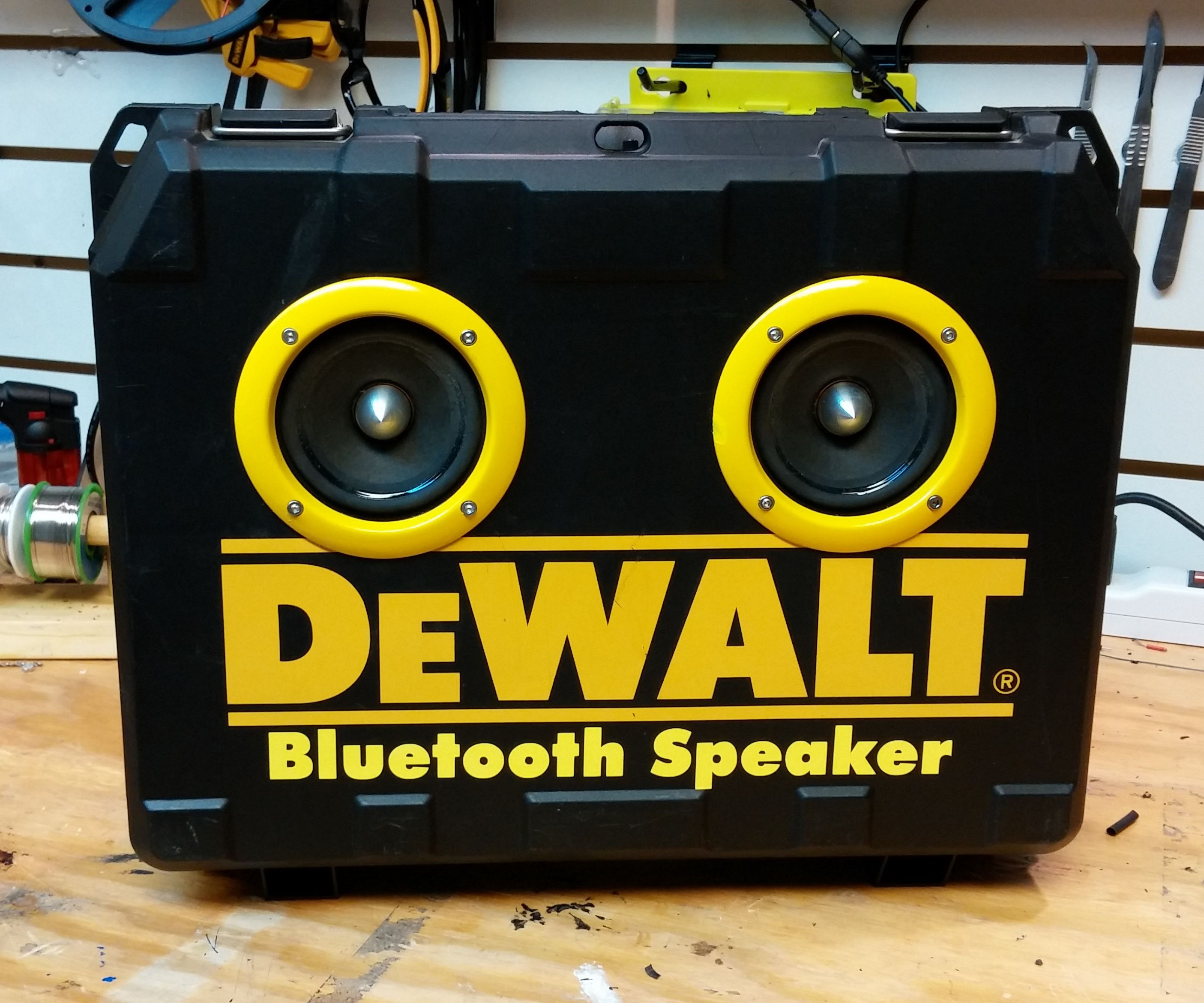 Dewalt Portable Bluetooth Speaker