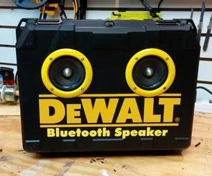 Dewalt Portable Bluetooth Speaker