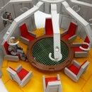M.A.S.K. Energyroom 3dprinted Playable Diorama With LED Light