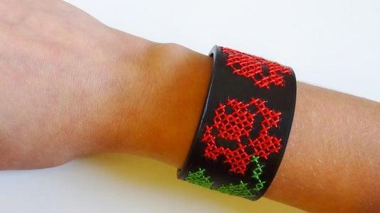 Create Your Own Cross Stitch Bracelet